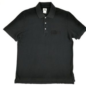 Lacoste Big Crocodile Men's Polo Shirt Black 7